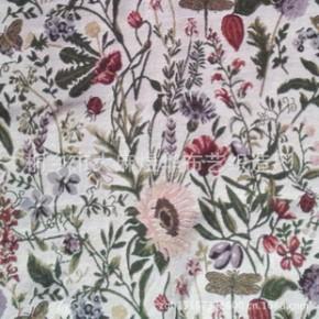 向日葵sunflower提花箱包布、女包面料  分绿、蓝两个版本