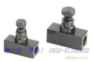 台湾高品质油压流量阀 油缸液压夹具图片
