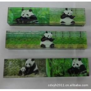 熊猫摆饰 熊猫旅游纪念品 压书镇子