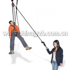 高樓救生 緩降器 GRS1001全身繩索營救吊帶系統
