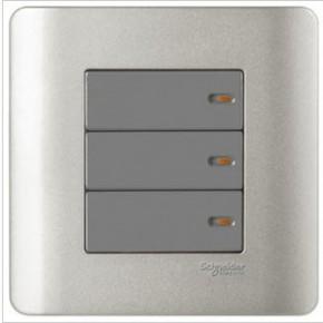 施耐德電氣-輕點系列E8433_2三聯雙控開關(SA)