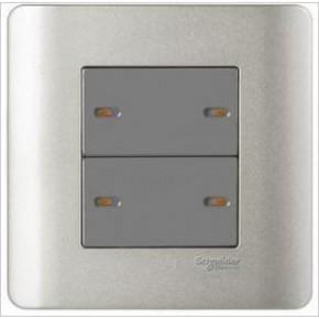 施耐德電氣-輕點系列E8434_1四聯單控開關(SA)