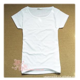白手绘男女t恤
