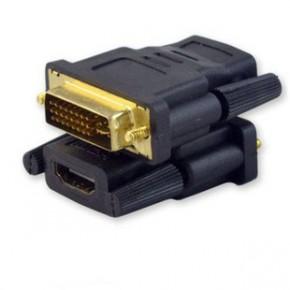 50个/包 hdmi转dvi转换头 DVI24+1公转HDMI母 HDMI视频高清转接头