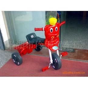 可愛的面具小熊車 兒童三輪車