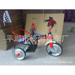 可攜帶小朋友的雙人坐騎 兒童三輪車