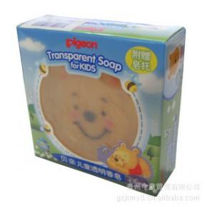 贝亲-儿童透明香皂(小熊维尼卡通人物)IA67