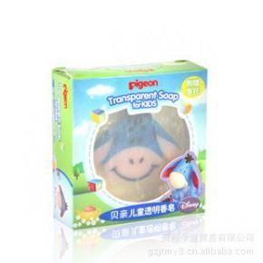 贝亲-儿童透明香皂(伊耳卡通人物)IA69