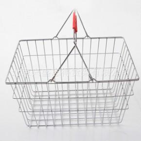 零售金属购物篮 购物筐 手提式购物篮