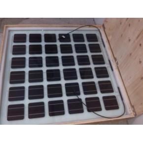 建筑一体化双层玻太阳能板,太阳能电池组件