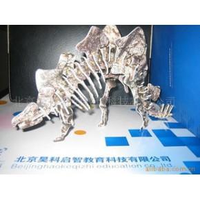恐龍模型,科技制作,立體拼圖,玩具,DIY教具