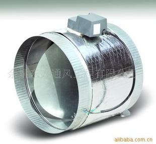镀锌,不锈钢螺旋风管电动风阀 圆风阀 阀门(图)图片
