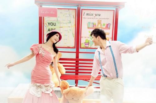 韩式3d立体恒温实景拍摄 --------------------彩妆:全套采用影楼一线