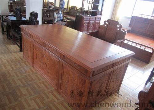 红木家具厂家直销办公桌