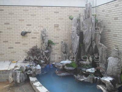 保定汇麟园林工程有限公司,专业设计制作室内假山盆景,庭院造景,屋顶