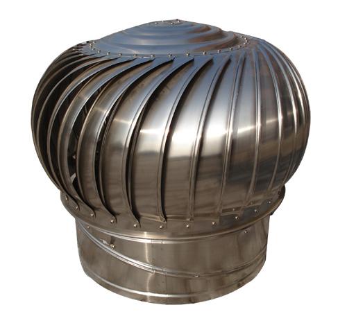 钢结构风机不用电处理排气屋顶,礼品式通风器,不锈钢厂房平安设备包图片