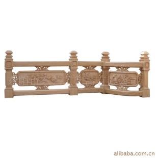 【东阳木雕】东艺古建木雕-栏杆