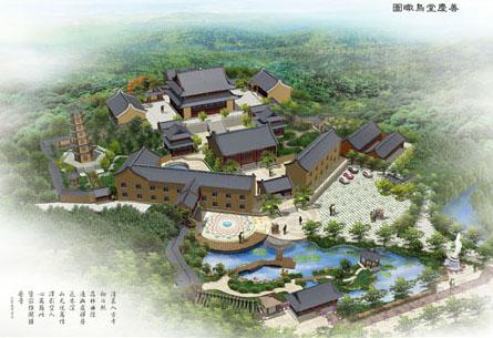 顺企网 产品供应 商务服务 设计服务 建筑及模型设计 03 寺庙规划设