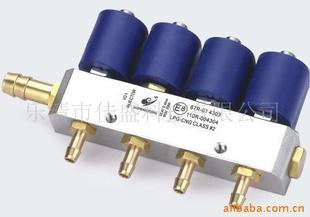 燃气喷轨CNG LPG共轨高频电磁阀改装配件 -机械设备图片