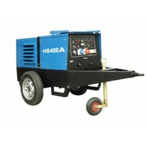 400A靜音柴油發電焊機20kw