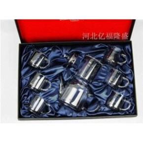 新品上海玻璃工艺茶具制作 ---亿福隆盛