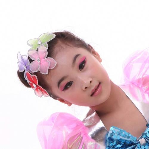 儿童妆容图片 可爱