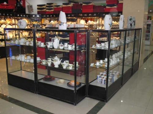 工艺品展示柜 礼品展示柜 烤漆高柜 珠宝展示柜