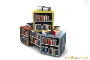儿童书架 书店书架 图书货架 防盗器 广东广州书架 -传媒广电