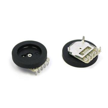电子元件 电位器  简介:拨盘电位器,单联拨盘电位器,双联拨盘电位器