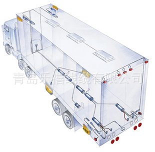 汽车 种类 线束/连接线/端子线 接口类型 接插件 用于集装箱半挂车等
