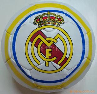足球彩色简笔画 圆形