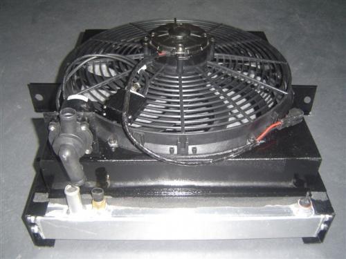 电子风扇 简介: 采用pwm调频方式控制电子风扇的无级变速