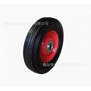 6寸7寸8寸10寸橡胶轮 脚轮 轮子厂家 胶轮 12寸实心轮