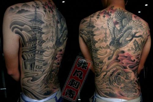 堕落天使纹身图片,二郎神纹身图片,关公纹身有什么讲究