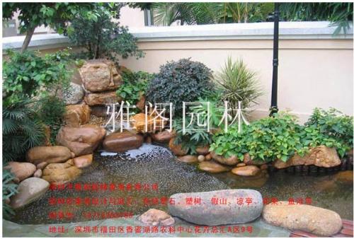 专业设计制作鱼池,水幕墙,鱼池假山