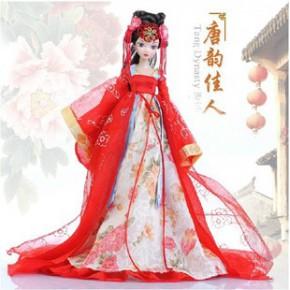新专柜可儿娃娃 古装关节体中国芭比限量收藏 唐韵佳人9070