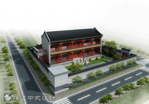 承接仿古建筑效果圖制作,仿古建筑設計,室內設計——騰遠中式