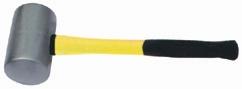 5021A防磁橡胶锤 不生锈橡胶锤