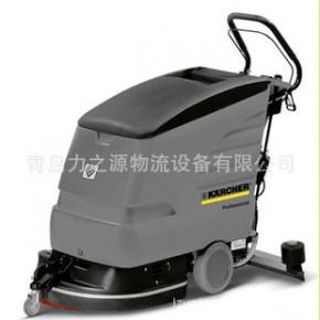凯驰洗地吸干机 手推式洗地机