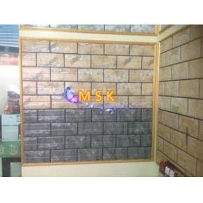 佛山厂家直销 高级别墅 3D喷墨外墙砖 10X20  耐高温 外景墙砖