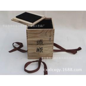 仿古木盒 定做 茶叶木盒木制茶叶盒黑枸杞包装盒 茶叶礼盒