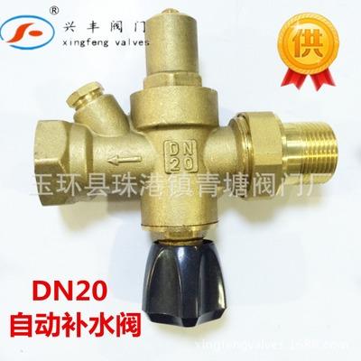 玉环高品质多功能DN20黄铜自动补水阀 图1