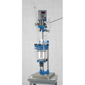 搅拌密封PGR系列双层玻璃反应釜 PGR-2L玻璃反应釜