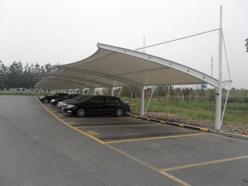 膜结构汽车棚|膜结构自行车棚|膜结构车棚制作|膜结构车棚报价|膜结构
