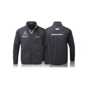 定制生产外贸高品质F1赛车广告服装软壳摩托车服车迷服