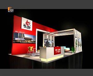 2013春季糖酒会主办商业展厅制作成都前沿展览展示设计制作图片