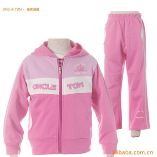 品牌童装 儿童运动套装 儿童运动服 儿童休闲服 -服装