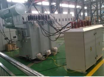 【中频淬火变压器与电容器组成的并联谐振系统