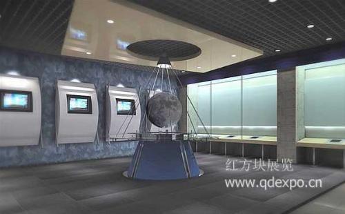 军事博物馆布展工程设计——红方块展览