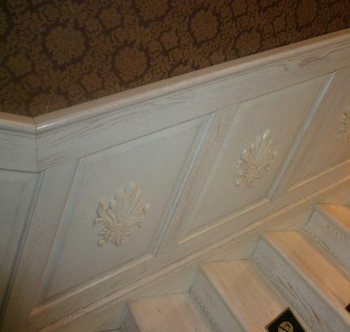 欧式护墙板 雕花护墙板 欧式墙裙 雕花墙裙